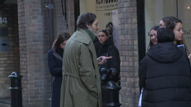 richard biedul at london fashion week menswear ss18 kent curwen celebrity sightings at 17 floral street on january 07 2018 in london england - fashion collection stock videos & royalty-free footage