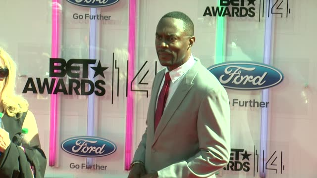 richard brooks at the 2014 bet awards on june 29 2014 in los angeles california - bet awards stock videos and b-roll footage