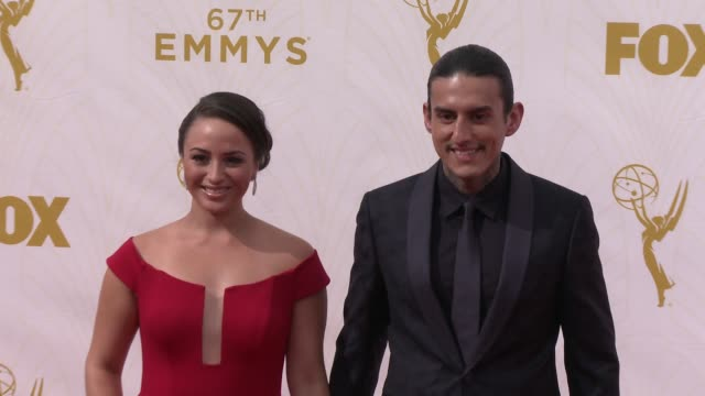 richard cabral at the 67th annual primetime emmy awards at microsoft theater on september 20, 2015 in los angeles, california. - annual primetime emmy awards stock videos & royalty-free footage