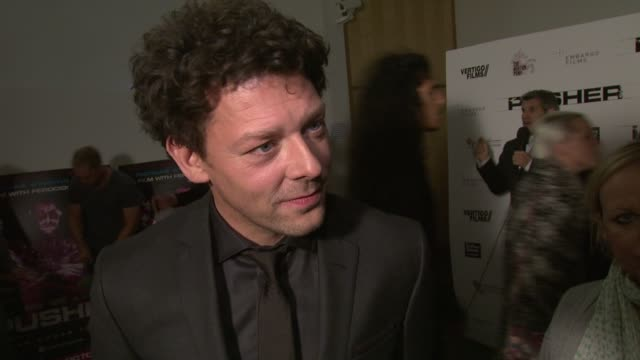 Richard Coyle on the film London music Agyness Deyn at Pusher Gala Screening at Hackney Picturehouse on October 04 2012 in London England