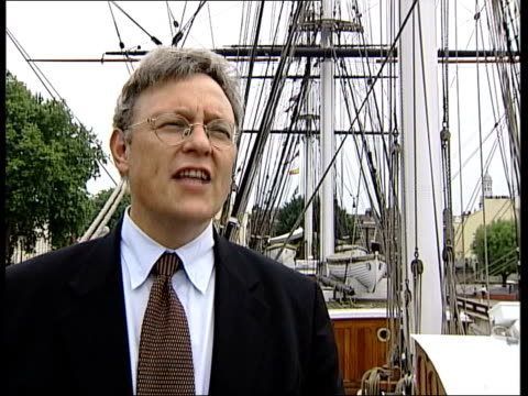 Richard Doughty interviewed SOT Very special ship/ she is to the merchant navy what the Victory is to the royal navy