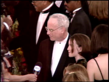 richard dreyfuss at the 1995 academy awards arrivals at the shrine auditorium in los angeles, california on march 27, 1995. - 67th annual academy awards stock videos & royalty-free footage