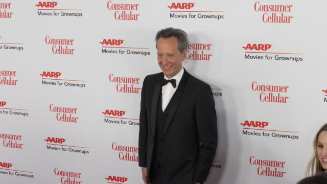 richard e. grant at the 18th annual movies for grownups awards at the beverly wilshire four seasons hotel on february 04, 2019 in beverly hills,... - richard e. grant stock videos & royalty-free footage