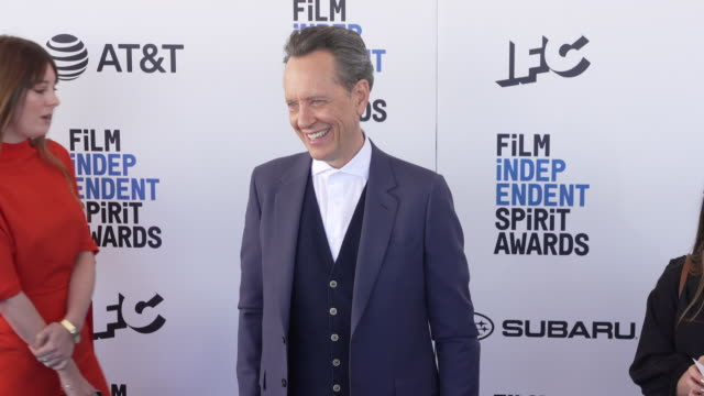 richard e. grant at the 2019 film independent spirit awards on february 23, 2019 in santa monica, california. - richard e. grant stock videos & royalty-free footage