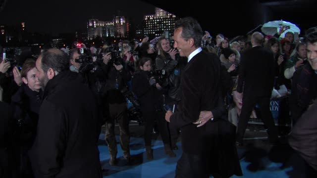 richard e grant at the iron lady european premiere at bfi southbank on january 4, 2012 in london, england. - richard e. grant stock videos & royalty-free footage
