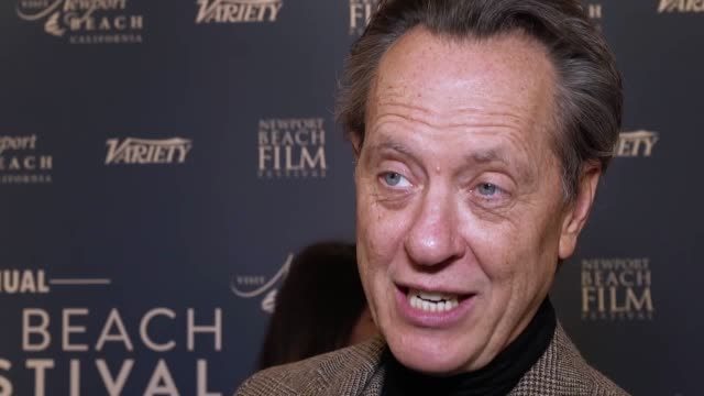 """stockvideo's en b-roll-footage met richard e grant has said that he """"can't quite believe"""" brexit is due to go ahead on friday the uk is preparing to leave the eu at 11pm on friday with... - george mackay"""