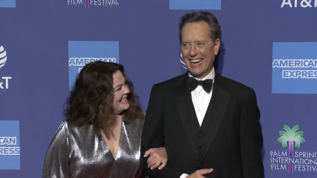 richard e grant melissa mccarthy at 30th annual palm springs international film festival film awards gala on january 03 2019 in palm springs... - best supporting actor stock videos & royalty-free footage