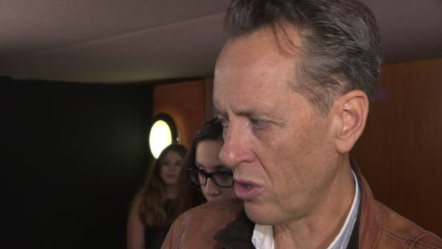 richard e grant on jude law, what it was like on set, working on a film with a small budget at 'don hemingway' premiere at the curzon mayfair on... - richard e. grant stock videos & royalty-free footage