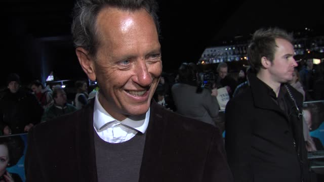 richard e grant on researching his role, how thatcher's era affected him at the time at the iron lady european premiere at bfi southbank on january... - richard e. grant stock videos & royalty-free footage