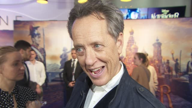 richard e. grant on why he took on his roll in the nutcracker and working on star wars at the nutcracker and the four realms gala screening on... - richard e. grant stock videos & royalty-free footage