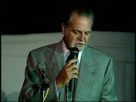 vídeos y material grabado en eventos de stock de richard frank at the 1996 emmy nomination party at the marque hotel in westwood california on september 4 1996 - westwood