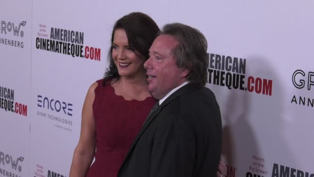 vídeos de stock e filmes b-roll de richard gelfond and peggy gelfond at the 31st annual american cinematheque awards honoring amy adams at the beverly hilton hotel on november 10 2017... - cinemateca americana