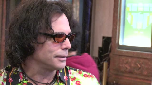 richard grieco greets fans at the pantages theater in hollywood 03/20/12 richard grieco greets fans at the pantages theater on march 20, 2012 in los... - パンテージスシアター点の映像素材/bロール
