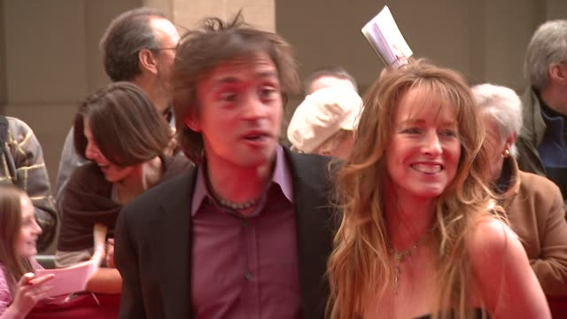 richard hammond and partner at the galaxy book awards at the grosvenor house in london on april 9 2008 - richard hammond stock videos & royalty-free footage
