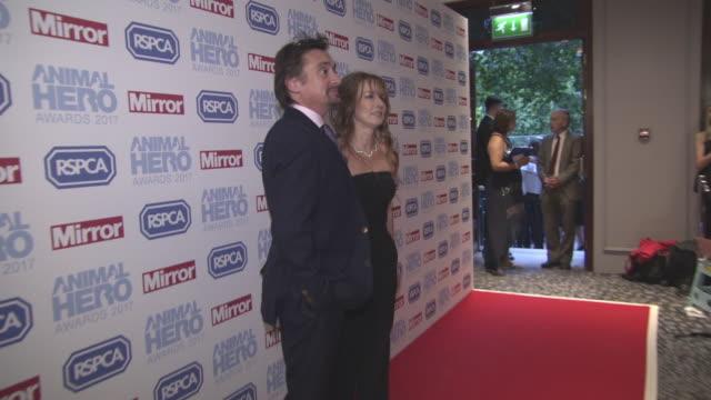 richard hammond at daily mirror animal hero awards on september 7 2017 in london england - richard hammond stock videos & royalty-free footage
