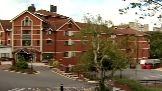 hammond moves hospitals england bristol ext general view of bupa hospital building - richard hammond stock videos & royalty-free footage