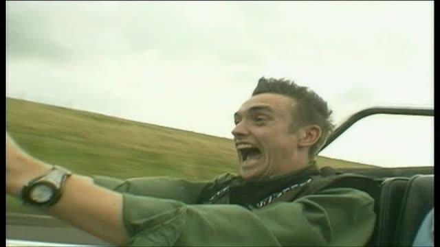 richard hammond driving a dax rush - richard hammond stock videos & royalty-free footage