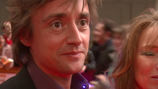 richard hammond on how glamming up the book awards will widen its audience at the galaxy book awards at the grosvenor house in london on april 9 2008 - richard hammond stock videos & royalty-free footage