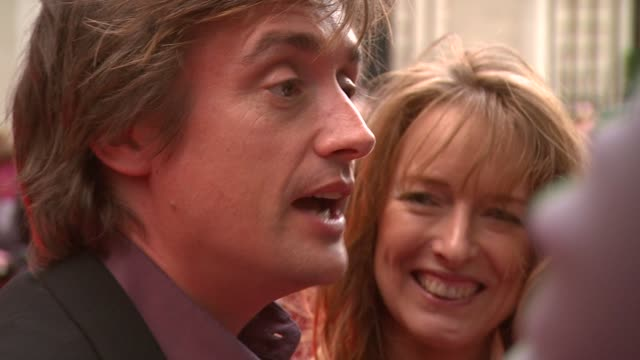 richard hammond on the celebration of books releasing his own book on jeremy clarkson and on he and on how he and his partner love to read and write... - richard hammond stock videos & royalty-free footage