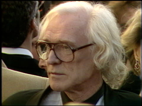 richard harris at the 1991 academy awards at the shrine auditorium in los angeles, california on march 25, 1991. - shrine auditorium 個影片檔及 b 捲影像