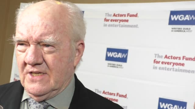 INTERVIEW Richard Herd talks about how to make it in acting at The Actors Fund's Tony Awards Viewing Gala at The Beverly Hilton Hotel in Beverly...