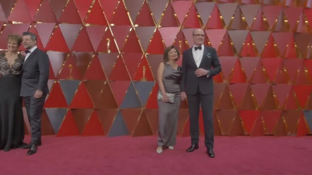 richard jenkins and sharon r friedrick at dolby theatre on march 04 2018 in hollywood california - 90th annual academy awards stock videos & royalty-free footage