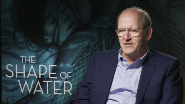 richard jenkins on guillermo del toro as a director, his style at 'the shape of water' - interview 74th venice international film festival on august... - 第74回ベネチア国際映画祭点の映像素材/bロール