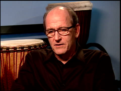 richard jenkins on his character at the 'the visitor' junket at the four seasons hotel in los angeles, california on march 29, 2008. - four seasons hotel stock videos & royalty-free footage