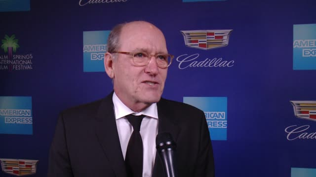 INTERVIEW Richard Jenkins on how fun the film festival is at the 29th Annual Palm Springs International Film Festival Awards Gala at Palm Springs...