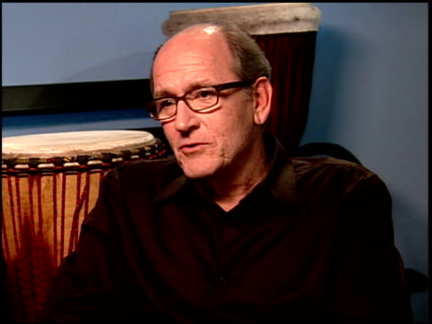 richard jenkins on the impact the story had on them at the 'the visitor' junket at the four seasons hotel in los angeles, california on march 29,... - four seasons hotel stock videos & royalty-free footage