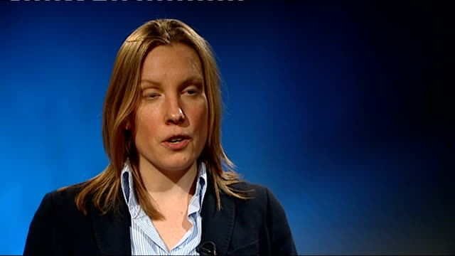 richard keys and andy gray suspended from sky sports over sexist remarks int tracey crouch mp interview sot think they are stupid and ignorant / they... - commentary box stock videos and b-roll footage