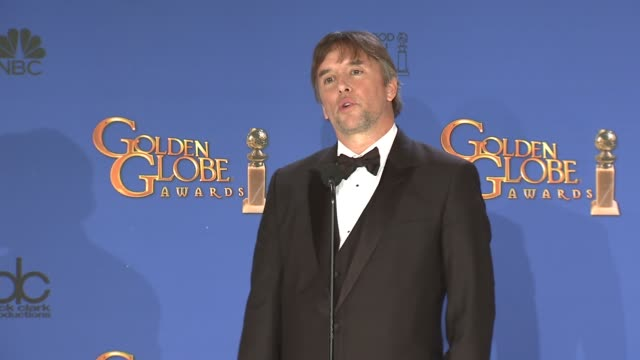 SPEECH Richard Linklater at 72nd Annual Golden Globe Awards Press Room at The Beverly Hilton Hotel on January 11 2015 in Beverly Hills California