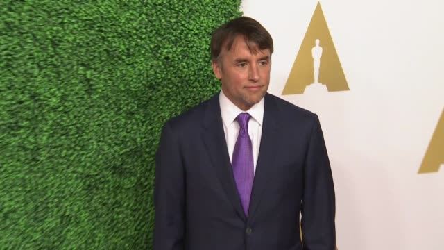richard linklater at 87th annual academy awards nominee luncheon - reception at the beverly hilton hotel on february 02, 2015 in beverly hills,... - the beverly hilton hotel stock videos & royalty-free footage