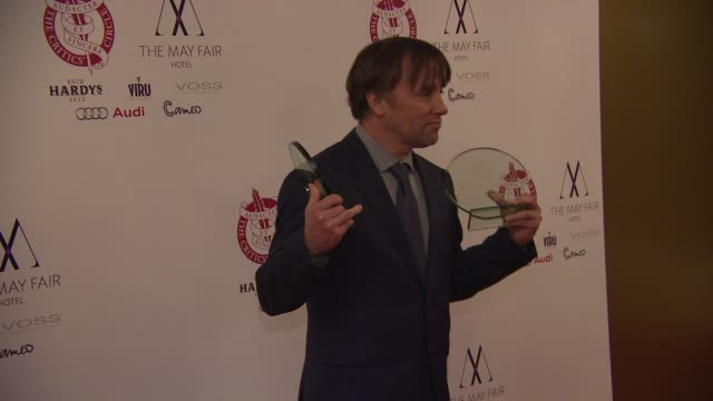 stockvideo's en b-roll-footage met richard linklater at london critics circle awards - criticus