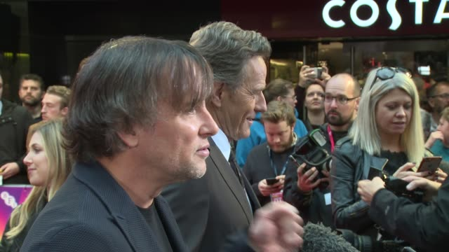 stockvideo's en b-roll-footage met richard linklater at odeon leicester square on october 08 2017 in london england - richard linklater