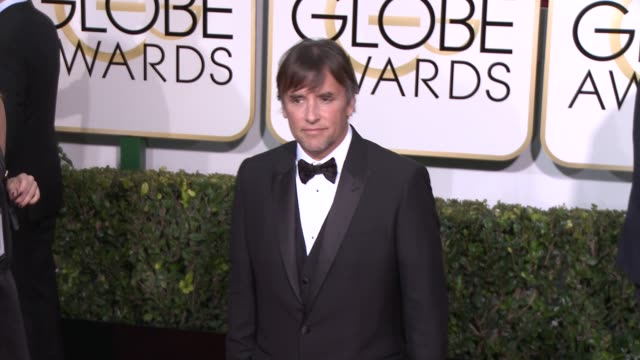 Richard Linklater at the 72nd Annual Golden Globe Awards Arrivals at The Beverly Hilton Hotel on January 11 2015 in Beverly Hills California