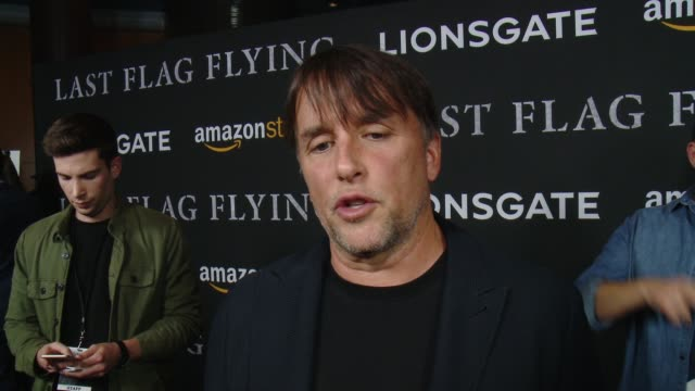stockvideo's en b-roll-footage met interview richard linklater on why he wanted to adapt this story what makes this story important and talks about working with the cast at amazon... - richard linklater