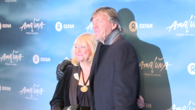 richard madeley judy finnigan at royal albert hall on january 12 2017 in london england - judy finnigan stock videos and b-roll footage