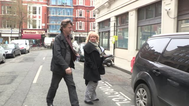 richard madeley judy finnigan video sightings on february 27 2013 in london england - judy finnigan stock videos and b-roll footage