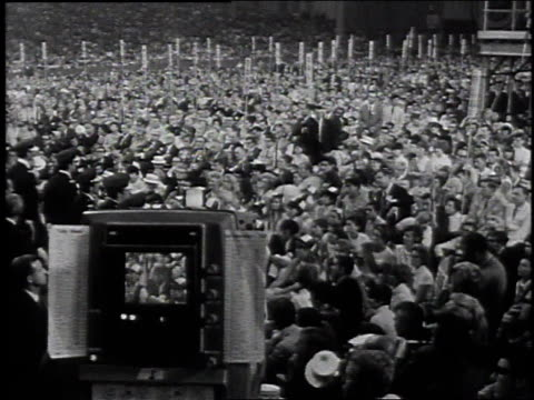 richard nixon giving a speech / miami beach, florida, united states - 1968 stock videos & royalty-free footage