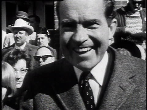 richard nixon / gov. rockefeller / gov. ronald reagan - 1968 stock videos & royalty-free footage
