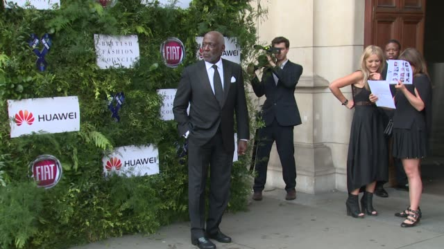 Richard Roundtree Samuel Jackson on June 12 2016 in London England