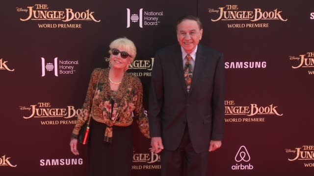 """richard sherman at disney's """"the jungle book"""" los angeles premiere at the el capitan theatre on april 04, 2016 in hollywood, california. - el capitan theatre stock videos & royalty-free footage"""