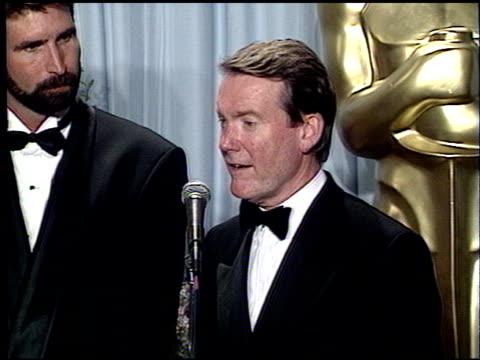 vidéos et rushes de richard williams at the 1989 academy awards at the shrine auditorium in los angeles, california on march 29, 1989. - 61e cérémonie des oscars