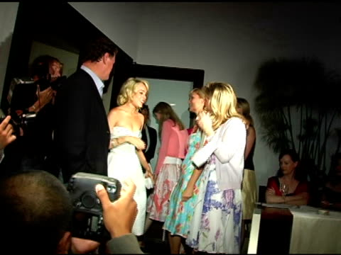 rick hilton lindsay lohan paris hilton and kathy hilton at the evening with an icon happy birthday marilyn monroe at meson g in los angeles... - paris hilton stock videos & royalty-free footage