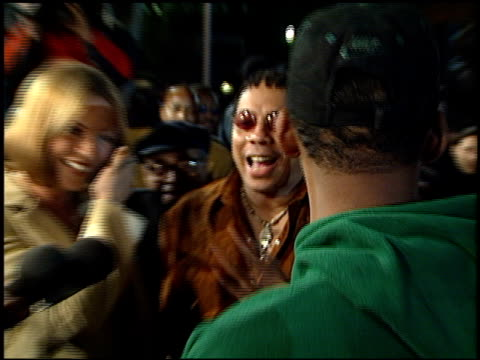 rick james at the 'life' premiere at the mann village theatre in westwood california on april 14 1999 - westwood neighborhood los angeles stock videos & royalty-free footage