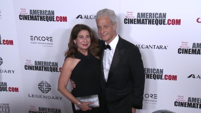 vídeos y material grabado en eventos de stock de rick nicita paula wagner at 30th annual american cinematheque awards gala in los angeles ca - premio american cinematheque
