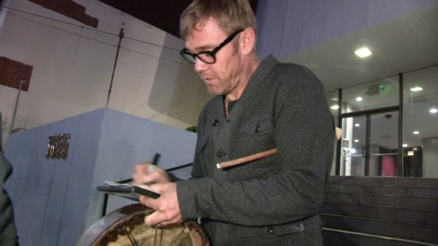 rick schroder at harmony gold in west hollywood, 11/14/12 - リック シュローダー点の映像素材/bロール