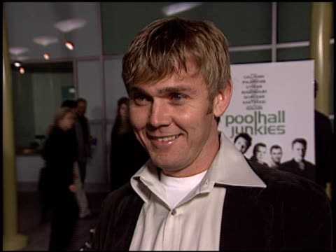 rick schroder at the 'poolhall junkies' premiere at arclight cinemas in hollywood california on february 19 2003 - arclight cinemas hollywood video stock e b–roll