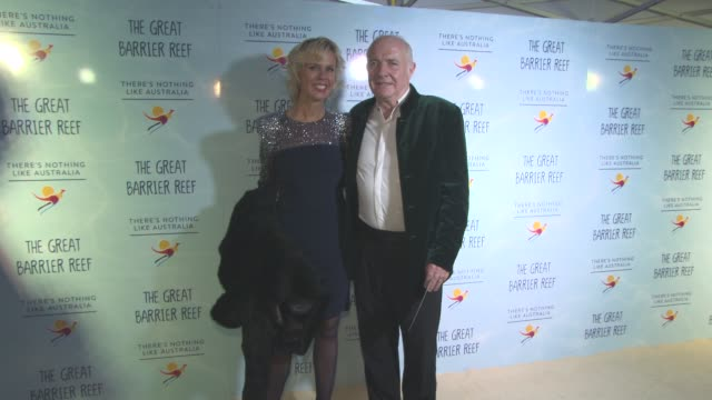 rick stein, sarah burns at screening of 'great barrier reef' with david attenborough at australia house on december 2, 2015 in london, england. - rick stein stock videos & royalty-free footage